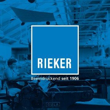 Rieker – Beeindruckend seit 1906