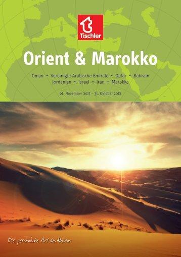 Tischler Reisen - Orient & Marokko 2017-18