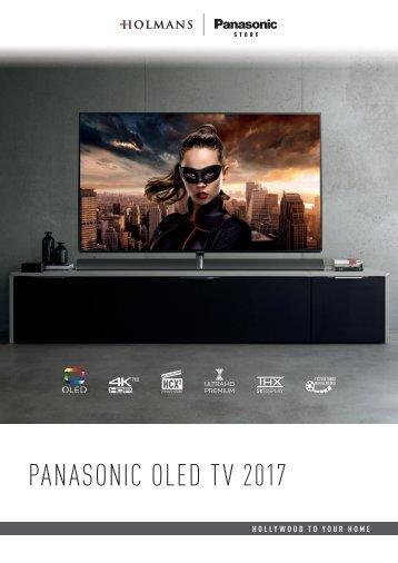 2333 Holmans Panasonic OLED A4 Brochure