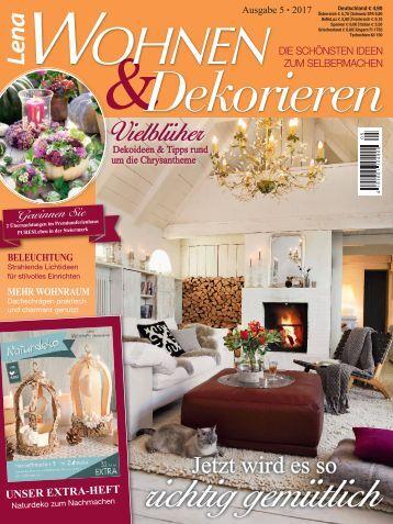Lena Wohnen & Dekorieren Nr. 5/2017