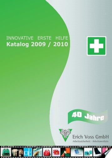 für PDF Katalog 2009_1_10-2009.cdr - Erich Voss GmbH