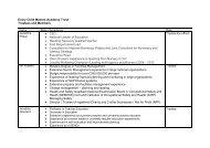 ECM Trust Members and Trustees July 2017