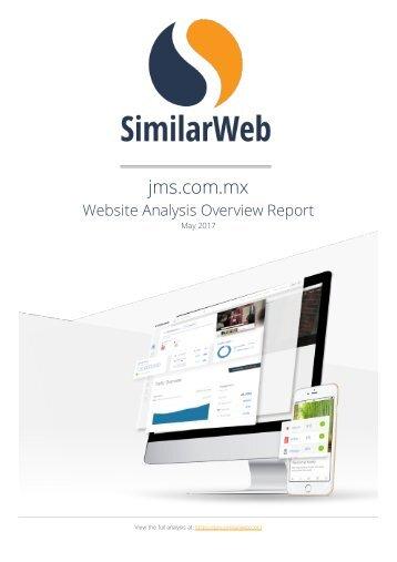 Website Analysis Overview Report JMS Tijuana Abel Jimenez Mercadologo Reporte Posicionamiento en Google SEO Estrategia de Marketing Digital SEO y Personal Branding Online - 05-May-2017
