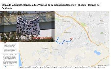 """""""Que les quede claro pinches muñecas de Jalisco La Plaza es de Nosotros """"CDS"""" - Narco Manta en Delegación Sanchez Taboada - A Menos de 15 Minutos de Colinas de California, La Rioja Residencial Tijuana, Coto Bahía"""