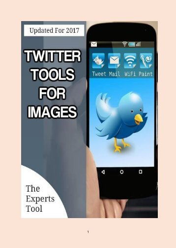 3 Twitter Tools for Images