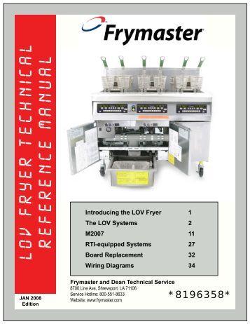 burger king 1814 computeroperation manual frymaster lov fryer technical reference manual frymaster