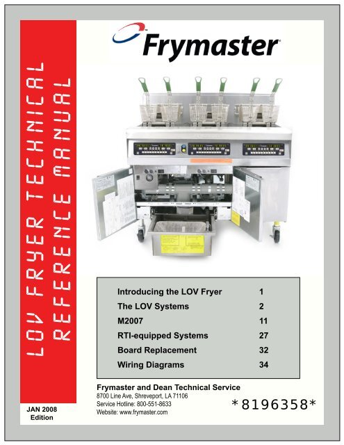 frymaster wiring diagram wiring diagram online lov fryer technical reference manual frymaster wiring a potentiometer for motor frymaster wiring diagram