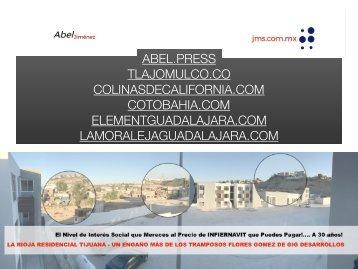 GIG Desarrollos Inmobiliarios La Rioja Tijuana Pestilente Relleno Sanitario Estafa a Tijuanenses