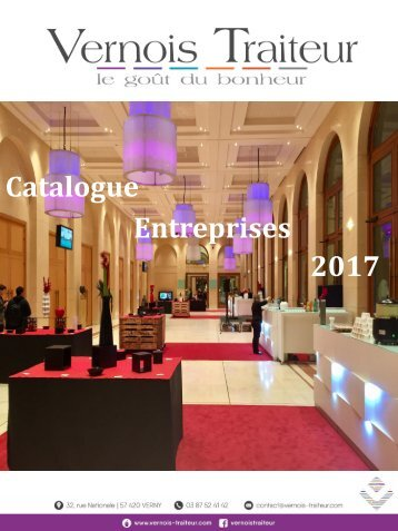 CATALOGUE PRO VERNOIS TRAITEUR 2017
