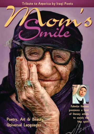 Faleeha Hassan Mom's Smile magazine