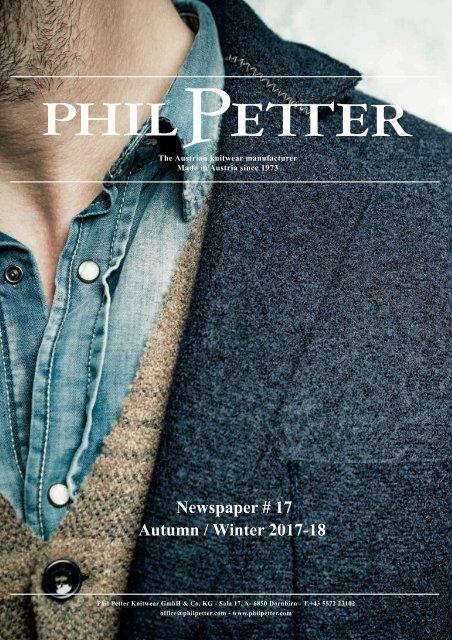 Phil Petter Zeitung No 17 AW 2017