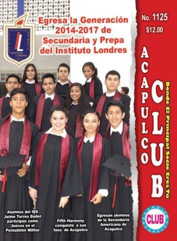 Revista Acapulco Club 1125