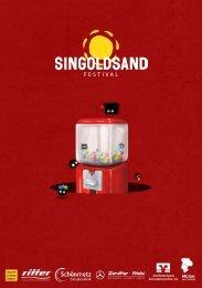 Singoldsand Festival 2017: Das Magazin