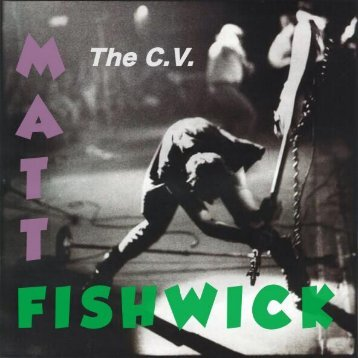 CV CD Matt Fishwick
