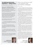 The Real Estate Advisors Magazine - August 2017 - Page 6