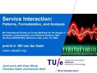 Service Interaction Patterns - Information Science and Technology ...