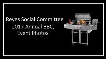 2017 Annual BBQ