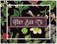 Foxy Box Co