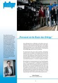 Immer einen Schritt voraus Toujours d'une longueur d'avance - Page 4