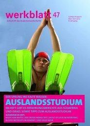 AUSLANDSSTUDIUM - Studentenwerk Berlin