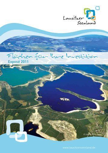 Flächen für Ihre Investition - Lausitzer Seenland