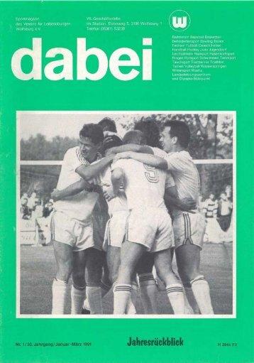 Jahresrückblick - VfL Wolfsburg