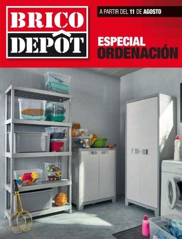 Catálogo BRICO DEPOT Especial ordenación a partir del 11 de Agosto 2017