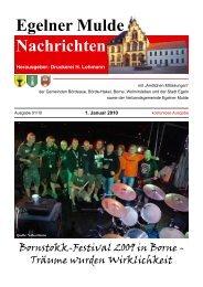 Egelner Mulde Nachrichten - Druckerei Lohmann