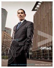 Gifted. - the University of Minnesota Law School