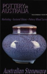 Pottery In Australia Vol 34 No 4 Summer 1995