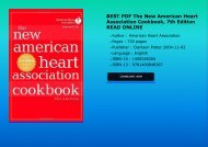 BEST PDF The New American Heart Association Cookbook 7th Edition READ ONLINE