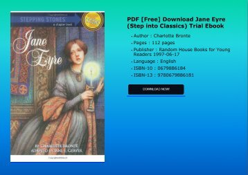 PDF [Free] Download  Jane Eyre (Step into Classics) Trial Ebook