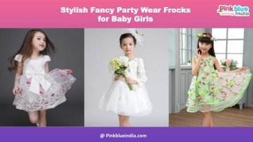 Fabulous Bollywood Style Party Wear Dresses for Kids, Toddler Girls