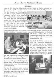 Berichte aus dem Schulleben (pdf 980k) - Johann-Michael-Sailer ...