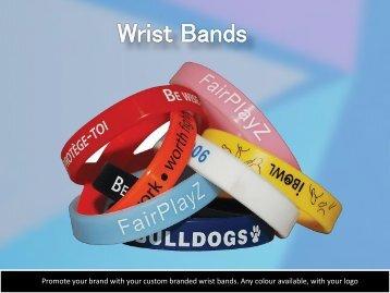 Wrist Bands - Chameleon Print