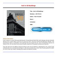 Review Hull in 50 Buildings Latest Collection