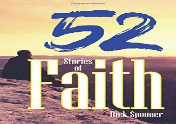 52 Stories of Faith (Rick Spooner)