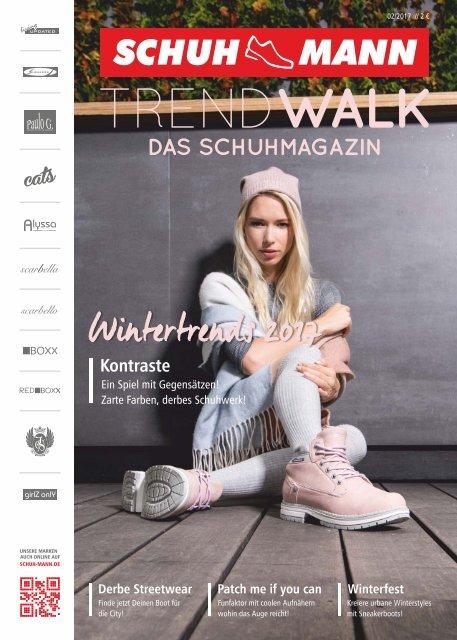 Schuh-Mann Schuhmagazin Trendwalk HW2017