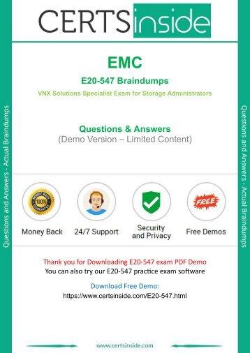 E20-547 Exam Questions