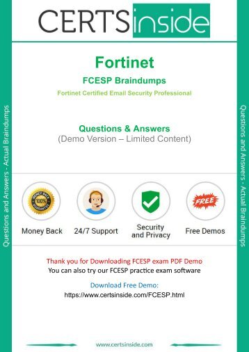 FCESP Exam Questions