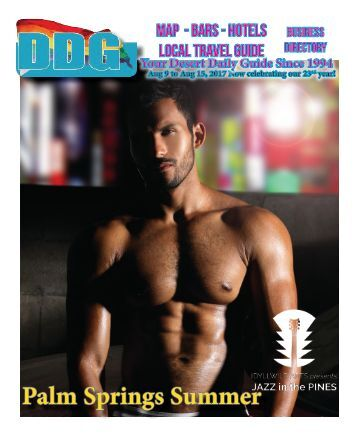 This week in Gay Palm Springs Aug 9 to Aug 15, 2017