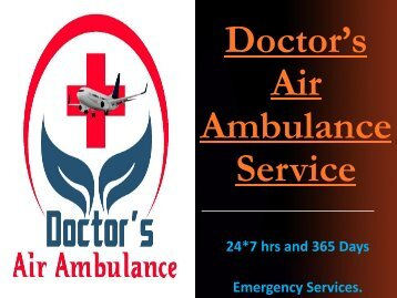 Emergency Medical Doctor's Air Ambulance Service in Nagpur