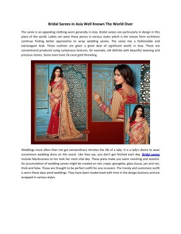Bridal_Sarees_in_Asia_Well_Known_The_World_Over