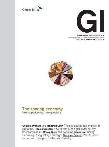 The sharing economy