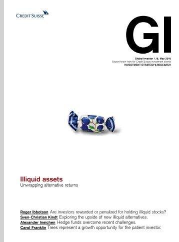 Illiquid assets