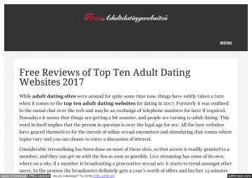 Top ten adult websites