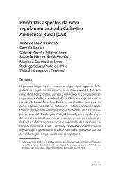 6 - Principais aspectos da nova regulamentação do Cadastro Ambiental Rural (CAR)._P