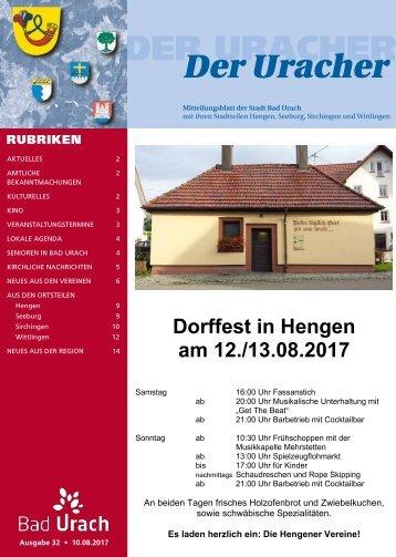 Der Uracher KW 32-2017