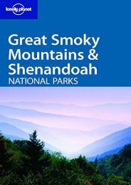 Lonely Planet Great Smoky Mountains   Shenandoah National Parks (Michael Read)