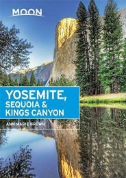 Moon Yosemite, Sequoia   Kings Canyon (Travel Guide) (Ann Marie Brown)